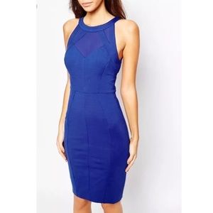 Ted Backer Jashmee Mesh Bodycon Dress
